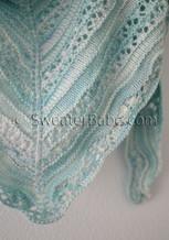 crystal cove shawlette knitting pattern