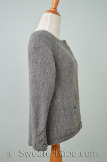 Tuesday's Cardigan PDF Knitting Pattern