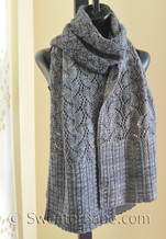marine layer scarf knitting pattern