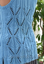farmers market vest knitting pattern