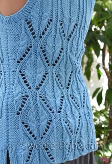 farmers market vest knitting pattern