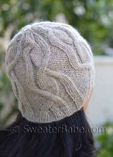 Quinn Cabled Hat Knitting Pattern