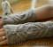 kiki fingerless mitts pdf knitting pattern