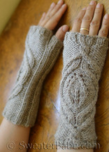 kiki fingerless mitts pdf knitting pattern
