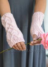 Riley Fingerless Gloves (longer length)