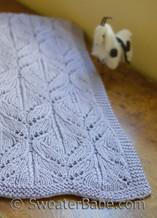 wild iris blanket knitting pattern