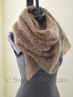 elena lace shawl knitting pattern