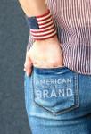Americana Wrist Cuff