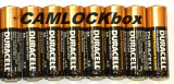 Duracell Alkaline AA Batteries 8 Pack