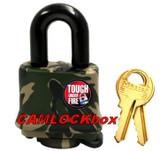 Master Lock Weather Resistant Padlock - Camo (317DSPT)