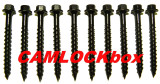 Ceramic Coated Timber Screws 10 Pack