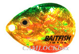 Northland Fishing Tackle Baitfish Crawler Spinner Harness Gold Perch/Size 3 (RCH3-6-PC)