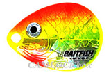 Northland Fishing Tackle Baitfish Crawler Spinner Harness Sunrise / Size 4 (RCH3-6-YO)