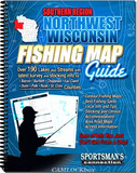 Sportsman's Connection Fishing Map Guide (Southern Region/Northwest Wisconsin)