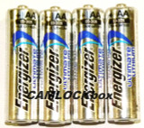 Energizer Lithium AA Batteries 4 Pack (B)