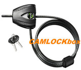 "Master Lock 3/16"" Black Python Cable (8417D)"