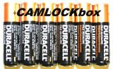 Duracell Alkaline AA Batteries 6 Pack