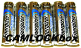 Energizer Lithium AA Batteries 6 Pack (B)