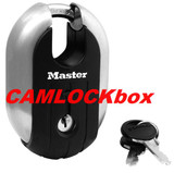 Master Lock Shrouded Padlock - Keyed Alike (187KA)