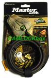Master Lock 8418KADCAMO Python Cable Camouflage (Bundle)
