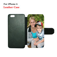 iphone 6 leatherette Flip photo phone case