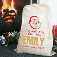 From santa sacks personalised Gift Present bags giant xl or large
