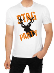 stag party tshirt  stag design 391