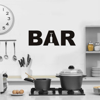 ★Bar club minibar nightclub★ Wall Art Sticker Decal Mural★