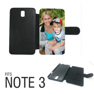 Samsung galaxy note 3 leatherette flip photocase personalised
