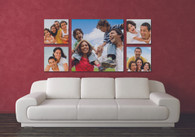 Chromaluxe Metal photo wall panels (instore only)