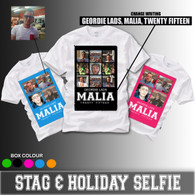 New 2015 selfie mens 4 pictures stag and holiday tshirt