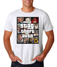 New 2015 Stag Theft Auto stag and holiday tshirt