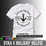 lets get ship faced ibiza magaluf booze cruise white tshirt stag holiday