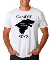 The Game of stags thrones stag night tshirt 2016 new