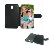 Samsung galaxy note 4 leatherette flip photocase personalised