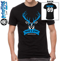Stag Night tshirt new design 364 front and back cheap