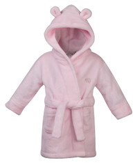 Embroidered Pink Dressing Gown  2yr to 6yr old