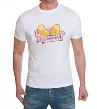 Couch Potato Slob funny tshirt