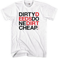 Bboy dirty deeds white tshirt