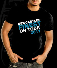 finest on tour stag night holiday tshirt