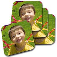 Personalised Photo Coasters set of 4