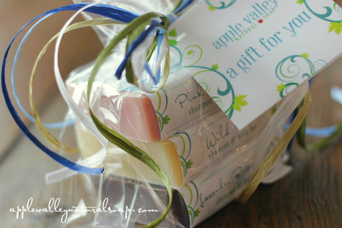 Soap Stack Gift by Apple Valley Natural Soap