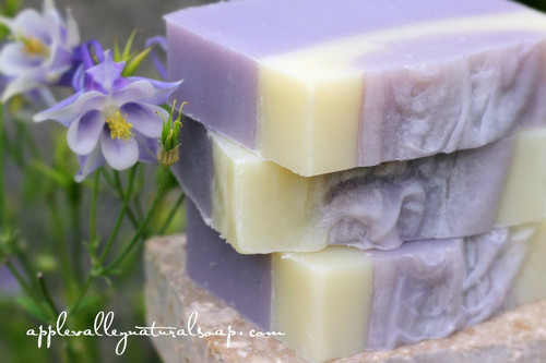 the Agatha Christie Body Bar by Apple Valley Natural Soap