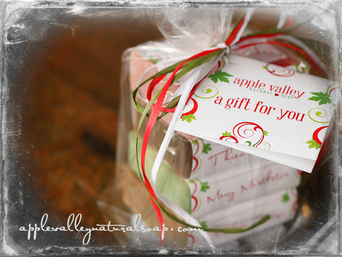 Christmas Soap Stack - Apple Valley Natural Soap