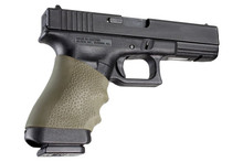 Hogue Universal Handall Full Size Grip Sleeve Glock OD Green 17001 0743108170014 Olive Drab Green 19 Rubber