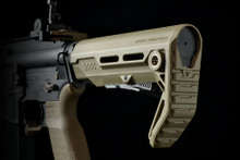 Strike Industries Viper CQB AR-15 Adjustable Stock FDE VIPER-ES-CQB-FDE 708747544848 Flat Dark Earth 5.56 AR 15 .223