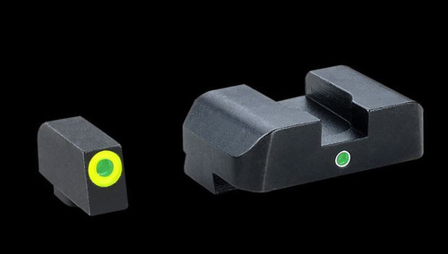 Ameriglo Pro i-dot Night Sights for Glock Green/Green GL-301