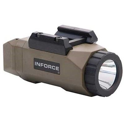 Inforce APL Auto Pistol Light White LED Flat Dark Earth FDE INF-APL-F-W