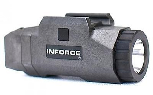 Inforce APL Auto Pistol Light White LED Black INF-APL-B-W