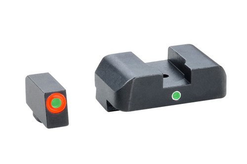 Ameriglo Pro i-Dot Night Sights for Glock Green/Green GL-203